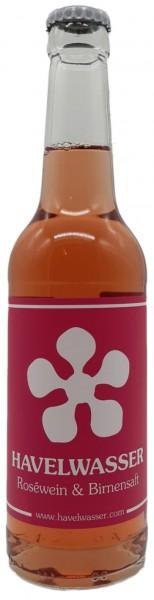 Havelwasser Rosé Bio - Birnensaft küsst Roséwein 330ml 4260415330659