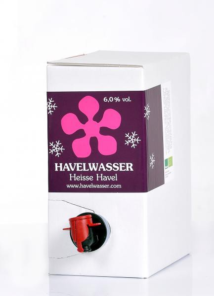 Heisse Havel Rot Bioland 3 Liter Bag in Box