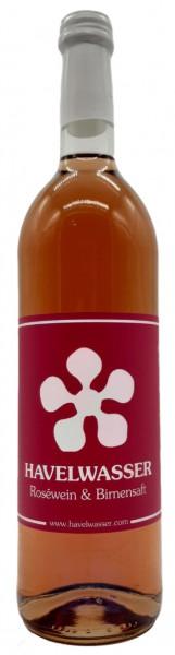 Havelwasser Rosé Bio - Birnensaft küsst Roséwein 750ml 4260415330079