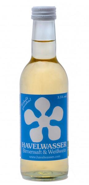 Havelwasser Weiß Bio - Birnensaft küsst Weißwein 250ml 4260415330024